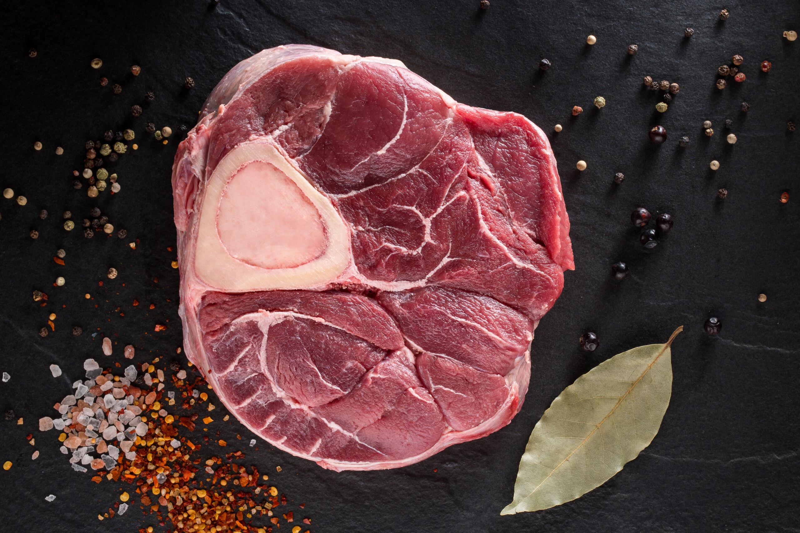 Osso Buco - stilba kauls ar gaļu